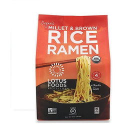 Lotus Foods - Millet & Brown Rice Ramen (4 pack)