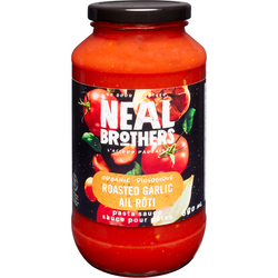 Neal Brothers - Organic Roasted Garlic Pasta Sauce (680ml)