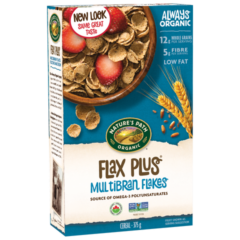 Nature's Path Cereal - Flax Plus Multibran Flakes (375g)