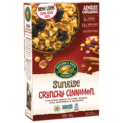 Nature's Path Cereal - Crunchy Cinnamon (375g)