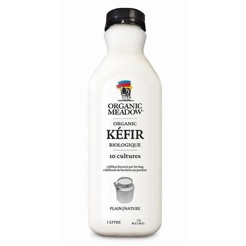Organic Meadow - Kefir, Plain (1L)