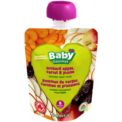 Baby Gourmet - Orchard Apple, Carrot & Prune (128ml)