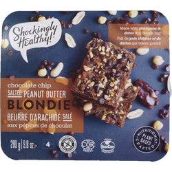 Shockingly Healthy - Blondie - Salted Peanut Butter Chocolate Chip (4 pack)
