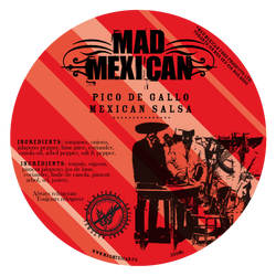 Mad Mexican - Pico de Gallo - Mild (355ml)