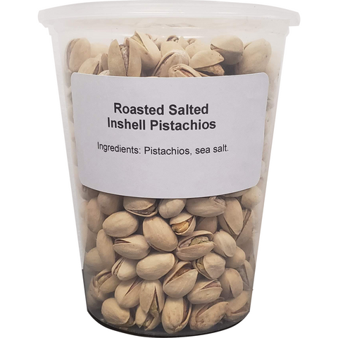Pistachios - Roasted, Salted (1 X 32oz Tub)