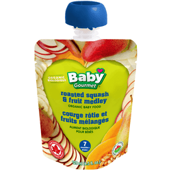 Baby Gourmet - Roasted Squash & Fruit Medley (128ml)