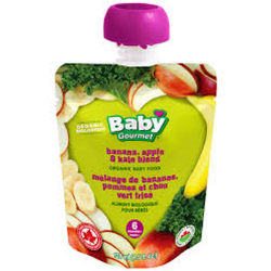 Baby Gourmet - Banana, Apple and Kale Organic Baby Food