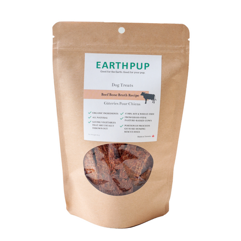 EarthPup - Dog Treats - Beef Bone Broth Recipe