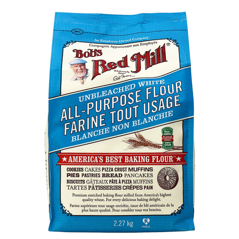 Bob's Red Mill - Unbleached White All Purpose Flour (2.27kg)