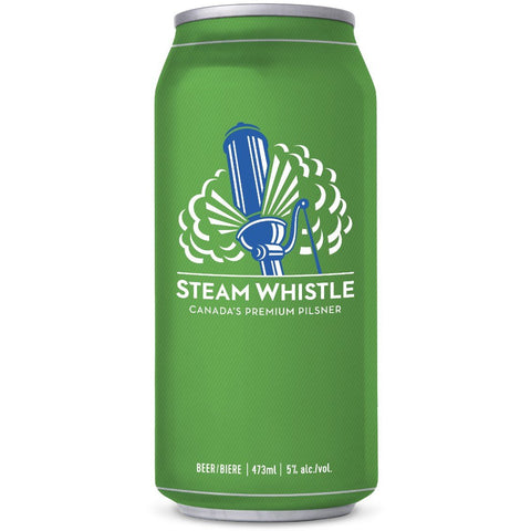 Steam Whistle - Premium Pilsner (6 x 473ml Cans) (*alcohol delivery charge)