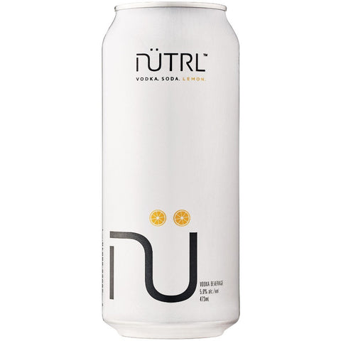 Nutrul - Vodka Soda, Lemon (6 x 473ml Cans) (*alcohol delivery charge)
