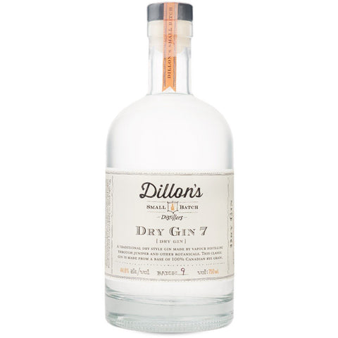 Dillon's - Dry Gin 7 (750ml) (*alcohol delivery charge)
