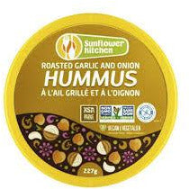 Sunflower Kitchen - Roasted Garlic and Onion Hummus (227g)