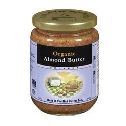 Nuts to You - Organic Almond Butter - Crunchy (365g)