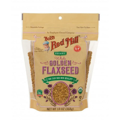 Bob's Red Mill - Golden Flaxseeds - ORGANIC (368g)