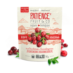 Patience Fruit & Co - Whole & Soft Cranberries (142g)