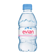 Evian Natural Spring Water (24x330ml)