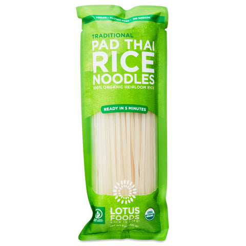 Lotus Foods - Organic Traditional Pad Thai Rice Noodles (227g)