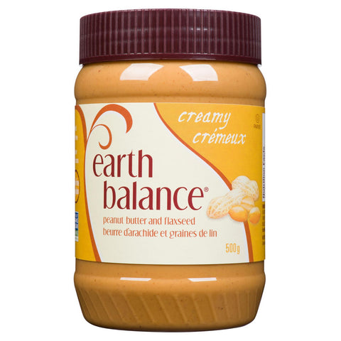 Earth Balance - Peanut Butter and Flaxseed (500g)