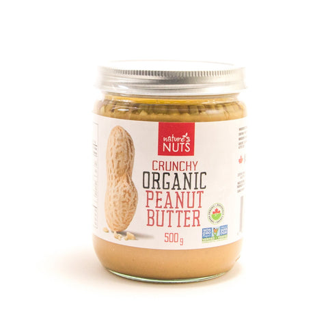 Nature's Nuts - Organic Crunchy Peanut Butter (500g)