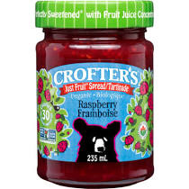 Crofter's Just Fruit Spread - Raspberry (235ml)