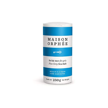 Fine Grey Sea Salt - Maison Orphee (250g)