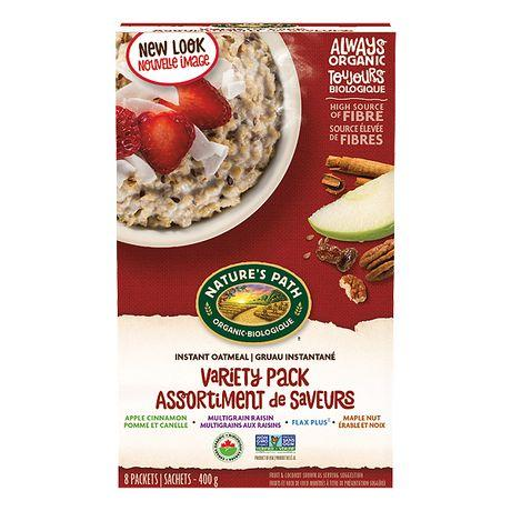 Nature's Path - Variety Pack Hot Oatmeal (8 packs)