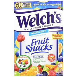 Welch's Fruit Snacks (60 pack)
