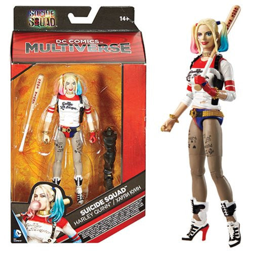 """DC Comics Multiverse Suicide Squad 6/"""" Harley Quinn Figure NEW /& SEALED!"""