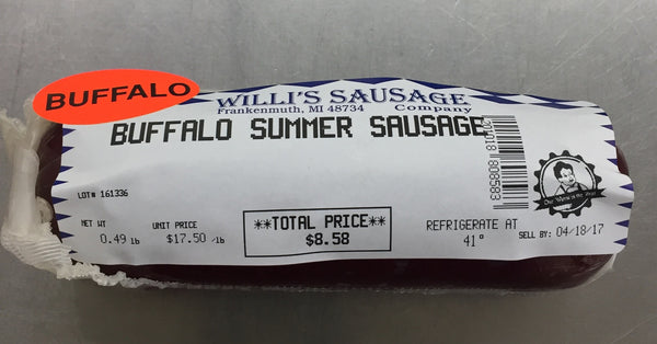 Buffalo Summer Sausage