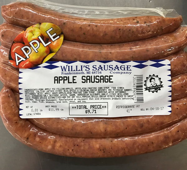Apple Sausage