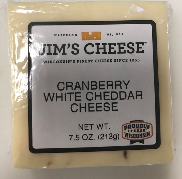 Cranberry White Cheddar Cheese