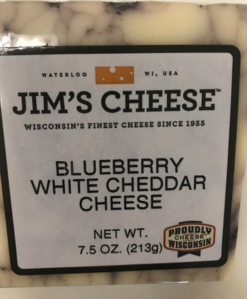 Blueberry White Cheddar Cheese