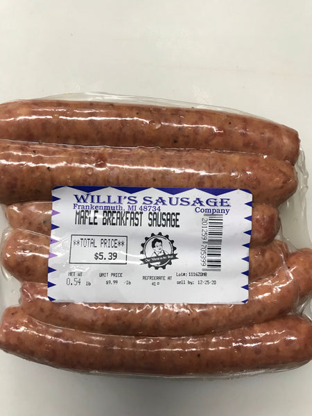 Breakfast Sausage - choose apple, bacon, or maple