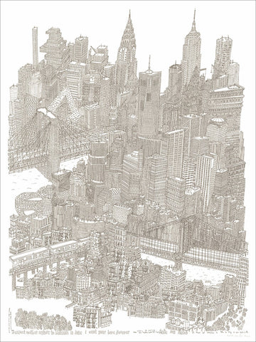 NYC 2014-2018, 45.7cm x 61cm (limited print edition)