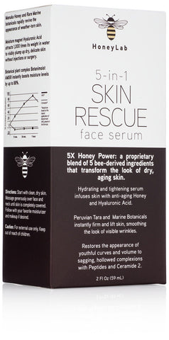 5 in 1 Skin Rescue Face Serum 2oz