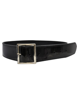 "ACS581-Patent Leather 1 3/4"" Black Belt"
