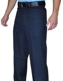 BBS377-Smitty Flat Front Combo Pants - Available in Heather Grey and Navy