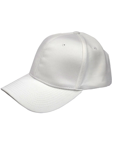 HT101 - Smitty Solid White Flex Fit Football Hat