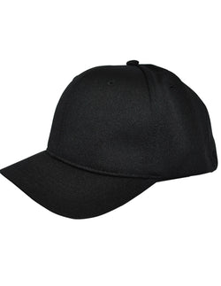 HT304 - Smitty - 4 Stitch Flex Fit Umpire Hat - Available in Black and Navy