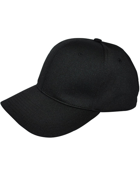 HT308 - Smitty - 8 Stitch Flex Fit Umpire Hat - Available in Black and Navy