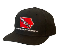 IA530- IHSAA-Richardson Fitted 4 Stitch Umpire Hat