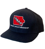 IA540- IHSAA-Richardson Fitted 6 Stitch Umpire Hat