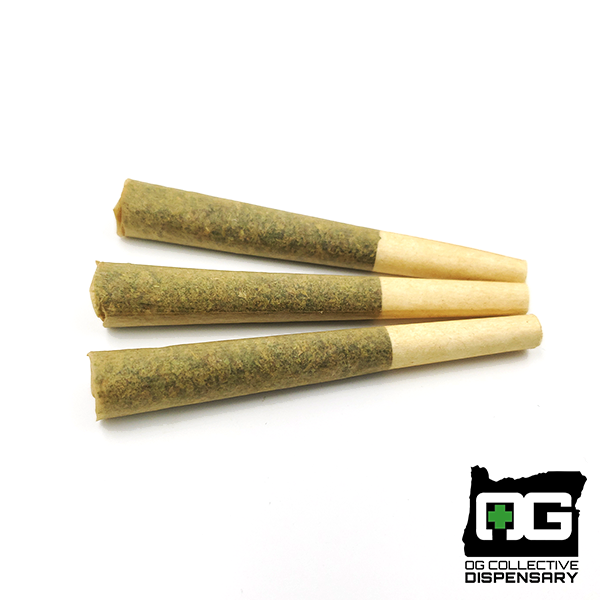 PLATINUM OG 3pk Pre-Rolls from ALBION FARMS [CO]