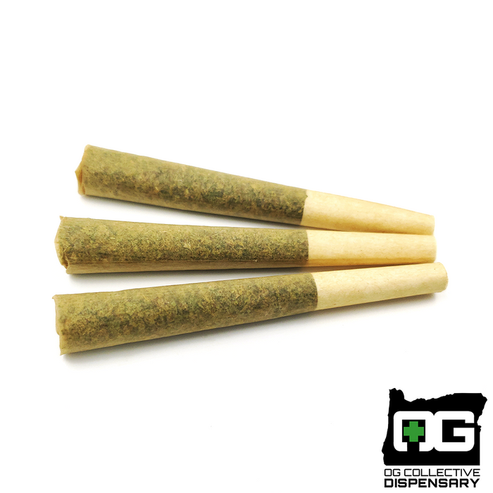 CHERRY CHEM 3pk Pre-Rolls from STONEY GOAT FARMS [CO]