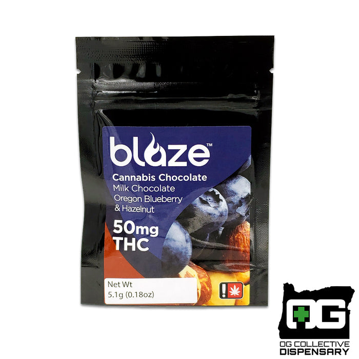 BLAZE SINGLES - MILK CHOCOLATE BLUEBERRY HAZELNUT [MO]