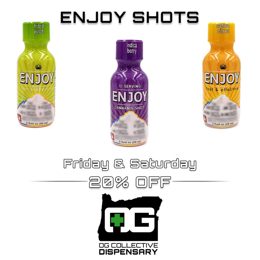 Limited Time - Save 20% on ALL Enjoy Shots