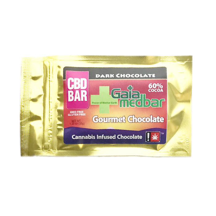 GAIA : CBD DARK CHOCOLATE Big Bar [CR]