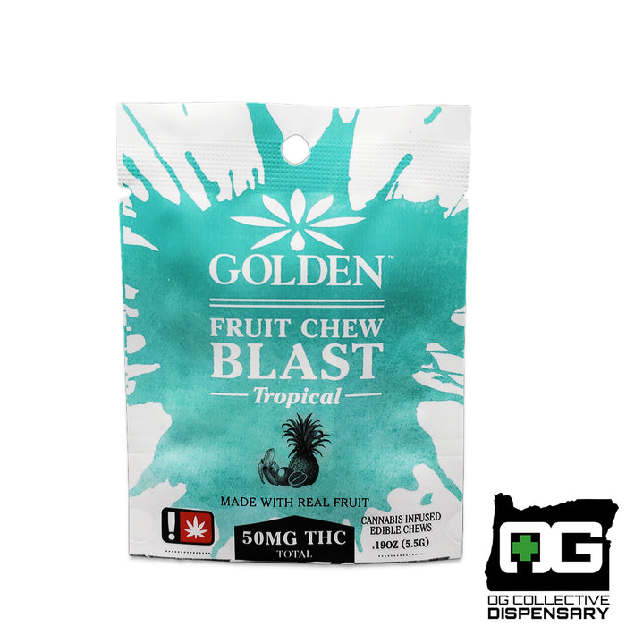 GOLDEN - TROPICAL FRUIT CHEW BLAST [MO]