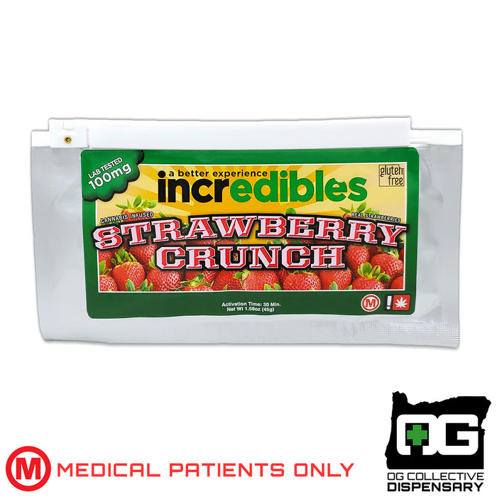 INCREDIBLES - STRAWBERRY CRUNCH MED [MO]